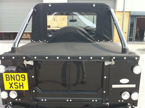 range rover pickup conversion tonneau conversion for land rover defender svx convertible
