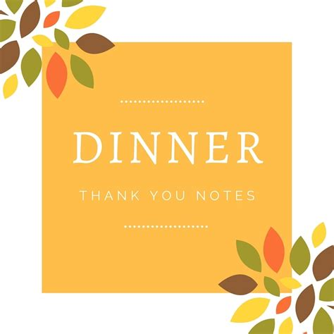 thank you cards for dinner template dinner thank you notes free thank you card wording