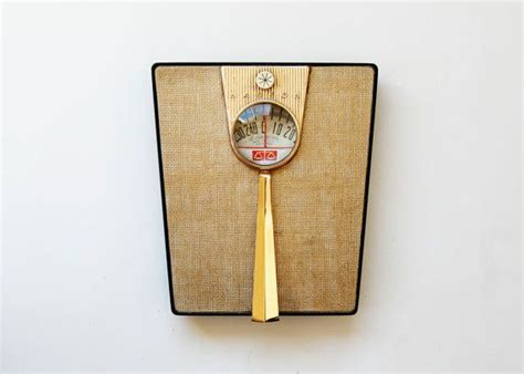 vintage bathroom scales vintage mid century bathroom scale 1950s gold art deco hanson scale best mid