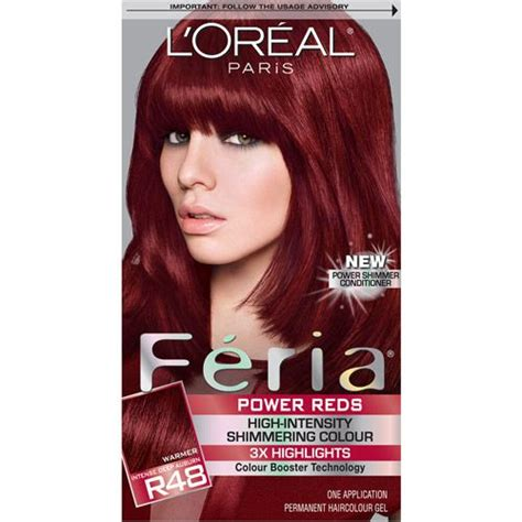 image gallery l oreal feria l oreal feria power reds reviews photos makeupalley