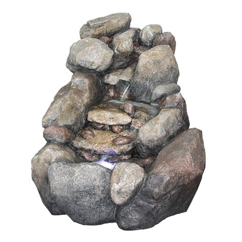 Garden Rocks Lowes Garden Fountains From Lowes In Faux Antique Copper Bamboo Fountains Decor