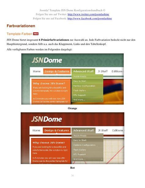 joomla template zugewiesen jsn dome konfigurationshandbuch