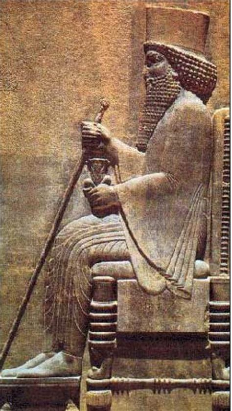 darius king ancient inscriptions link a babylonian king to the