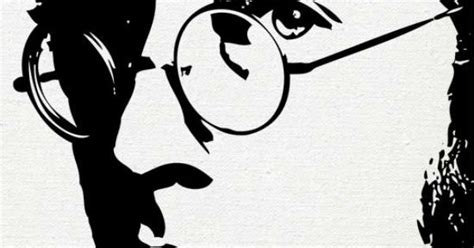 imagenes de john lennon en blanco y negro john lennon print dibujos blanco y negro pinterest
