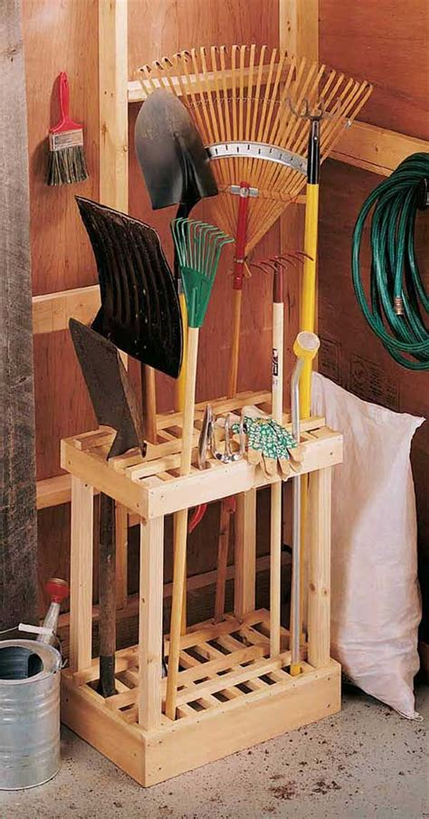 There Are Tons Of Useful Suggestions For Your Wood Working Garden Tool Storage Ideas