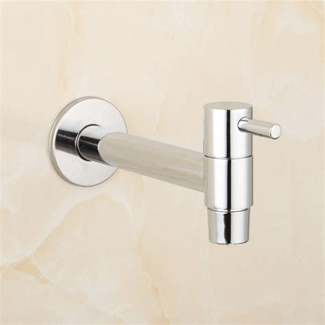 wall mounted faucet bathroom laundry bathroom wetroom kitchen wall mounted sink faucet tap spigot ebay