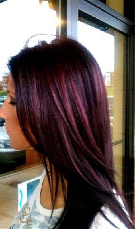 black cherry hair color chart wella purple hair hair nails pinterest plum color