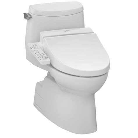 toto bidet toto carlyle ii c100 connect washlet elongated bidet in