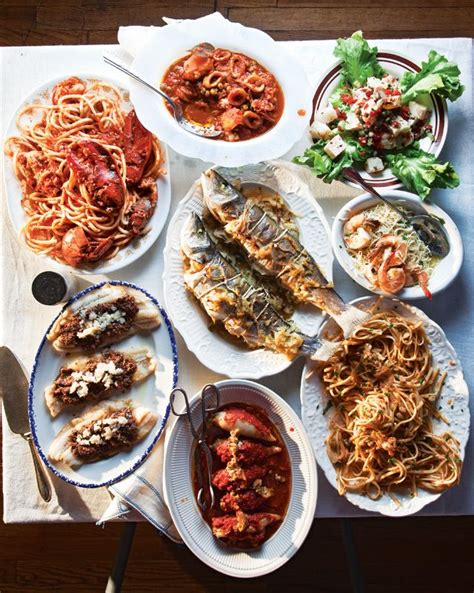 traditional italian christmas dinner menu a feast of the seven fishes for fish and italy