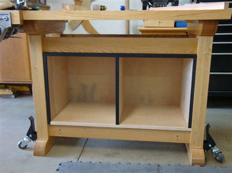 storage work bench workbench storage by julian lumberjocks com woodworking community