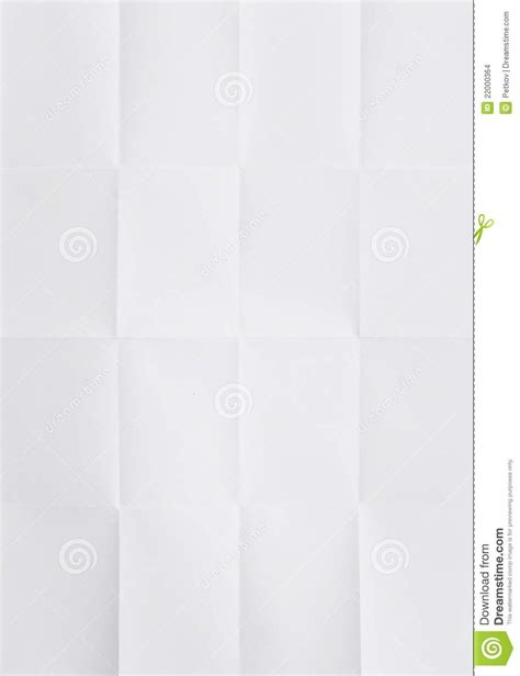 Folded Sheet Of Paper - white sheet of paper folded stock images image 22000364