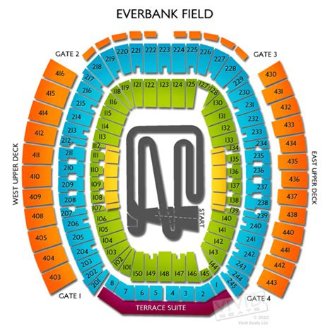 everbank field map jacksonville stadium seating map swimnova