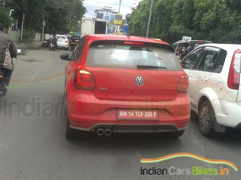 volkswagen polo red volkswagen polo gti india pics specification top speed