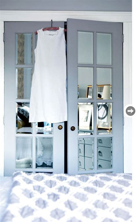 Interiors French Doors Mirrored Closet Doors And Closet Mirror Doors For Closets