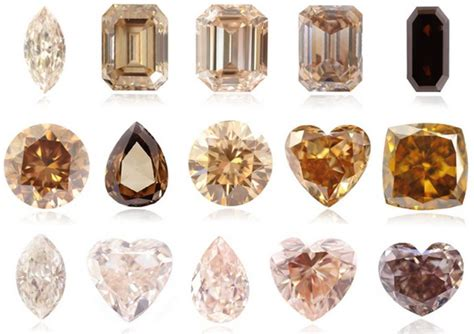 different color diamonds what are brown diamonds brown diamonds faq leibish