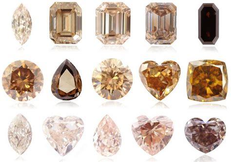 Two Tone Engagement Rings champagne diamond engagement rings leibish
