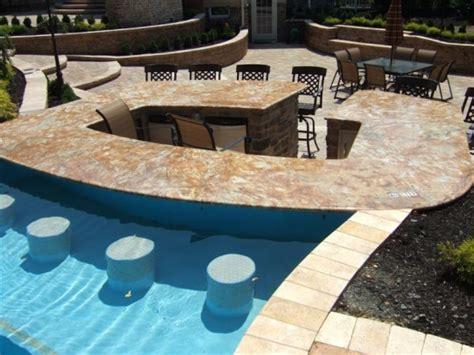 backyard pool bar 50 backyard swimming pool ideas ultimate home ideas