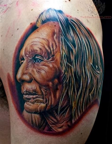indian chief tattoo designs american indian tattoos for