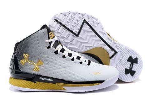 stephan curry basketball shoes cheap uk s ua stephen curry one white black gold