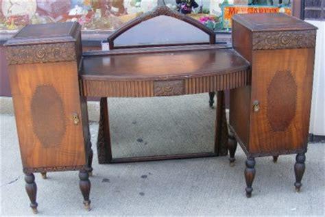 1920 Vanity Dresser by 1920s Antique Vintage Wood Vanity Dresser W Drawers