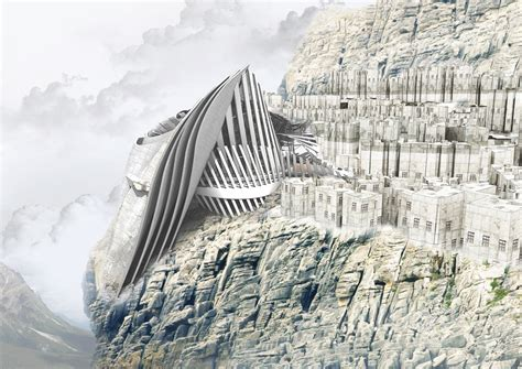 House Architectural Styles cliff hanger visualizing architecture
