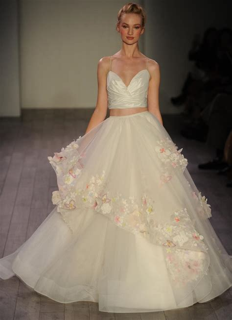 hayley paige bridal dresses wedding photos refinery29 hayley paige fall 2016 collection wedding dress photos