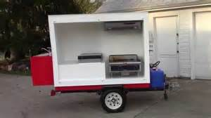 cer trailer kitchen ideas how to make a food cart