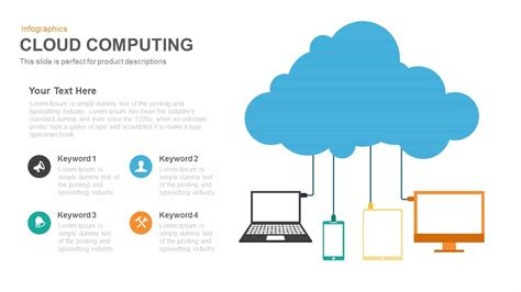 Cloud Computing Powerpoint And Keynote Template Slidebazaar Cloud Template For Powerpoint