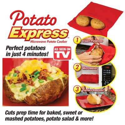 tv potato potato express microwave potatoes from