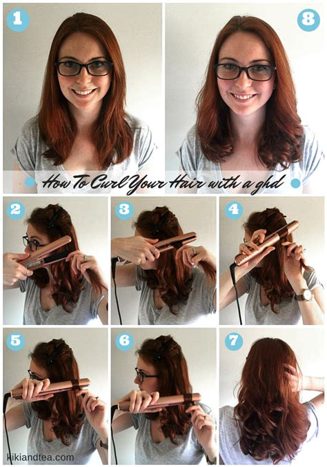 hairstyles by hair straightener tuesday tips how to curl your hair with a ghd ghd flat