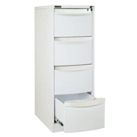 Stilford Filing Cabinet Stilford 4 Drawer Filing Cabinet White Officeworks