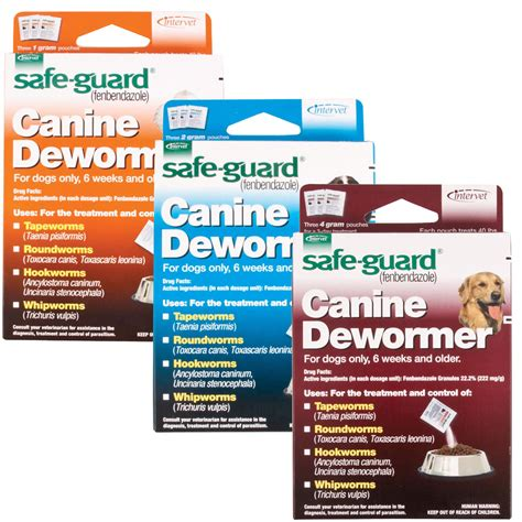 safe guard 1gm canine dewormer