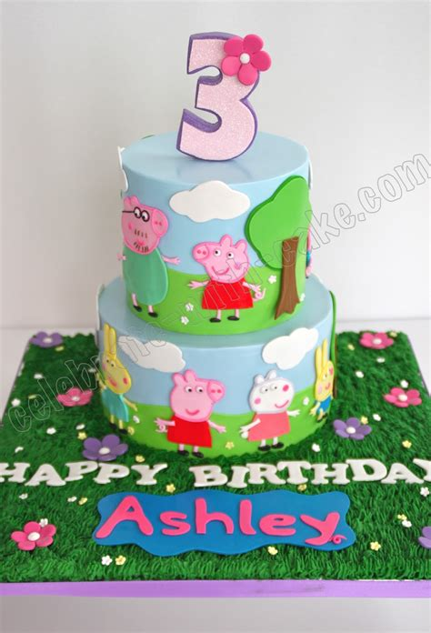 Shark Home Decor by Celebrate With Cake Peppa Pig Cake