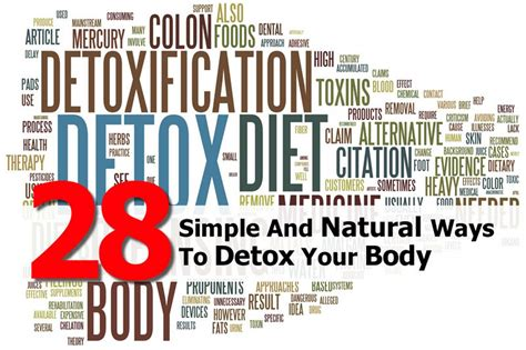 Ways To Detox From by 28 Simple And Ways To Detox Your