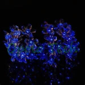 solar flower string lights ebay