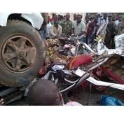Horrible Accident At Nkpor Flyover On Enugu Onitsha