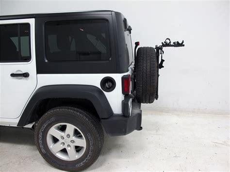 Jeep Wrangler Mount Racks Sr2 2 Bike Carrier Spare Tire Mount