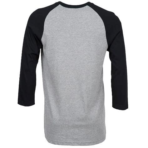 Kaos Polo Volcom Print 3 spitfire x volcom 3 4 raglan t shirt grey