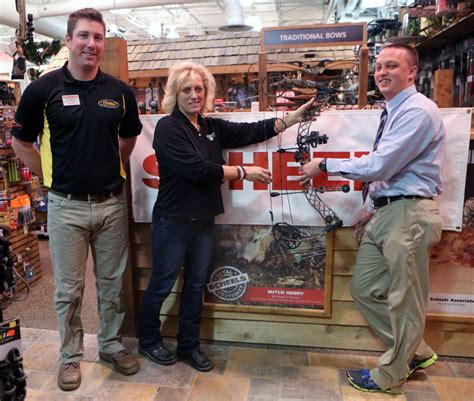 scheels in lincoln nebraska scheels donates bows to and parks mentored youth
