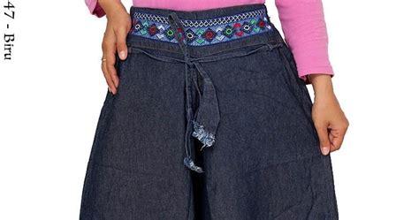 Kulot Jumbo By Enter 1 ck147 celana kulot bordir busana muslim murah terbaru toko jual baju gamis