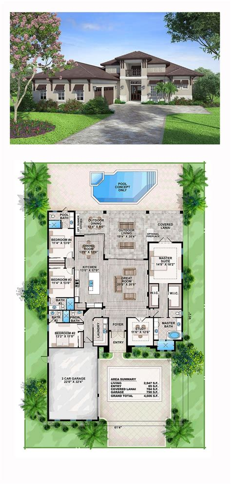 5 bed 3 5 bath 2 story house plan turn 18 x14 4 quot bedroom 4 bedroom house plans 1 story 5 3 2 bath floor best farm
