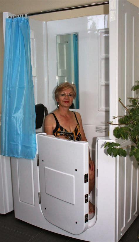 sitzwanne mit dusche senioren dusche sitzbadewanne sitzwanne duschbadewanne mit