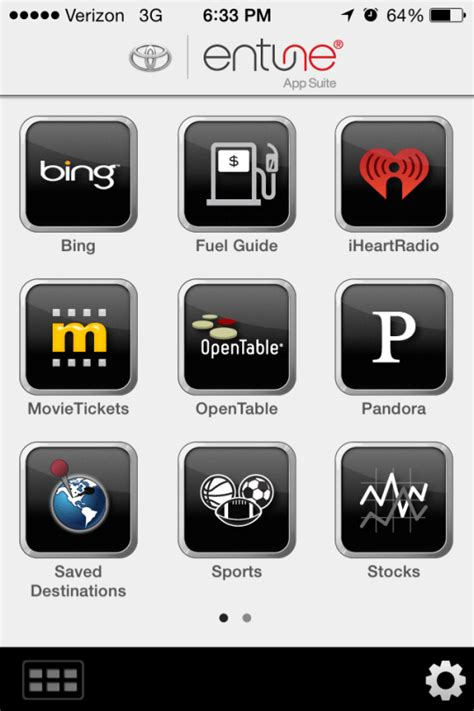 toyota entune app suite top 5 technology features of the toyota rockin