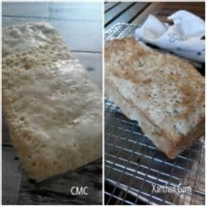 Ladang Lima Gluten Free Bread Mix roti tawar tepung singkong glutenfree cassava white bread goodiebake by ade sri