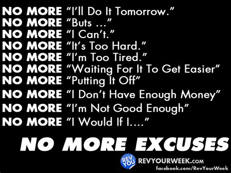 Diet Excusesdo You Fit In by No More Excuses Do What You Can Now