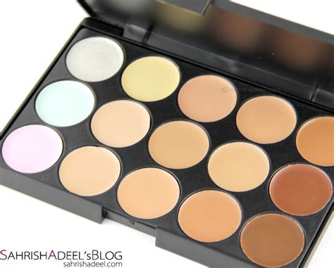 color concealer 15 color concealer palette product reviews pinterest