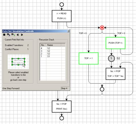 visio simulation fmc support tools petri net simulator
