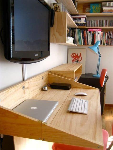 best of tiny desk best 25 space saving desk ideas on pinterest space