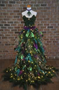 christmas tree dress peacock inspired christmas tree