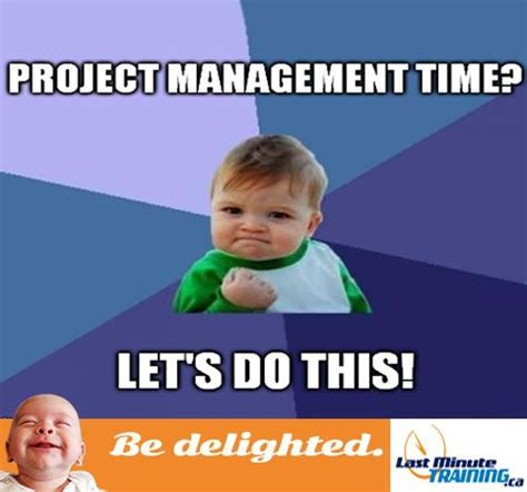 Meme Project Manager - meme cute kid funny project management office